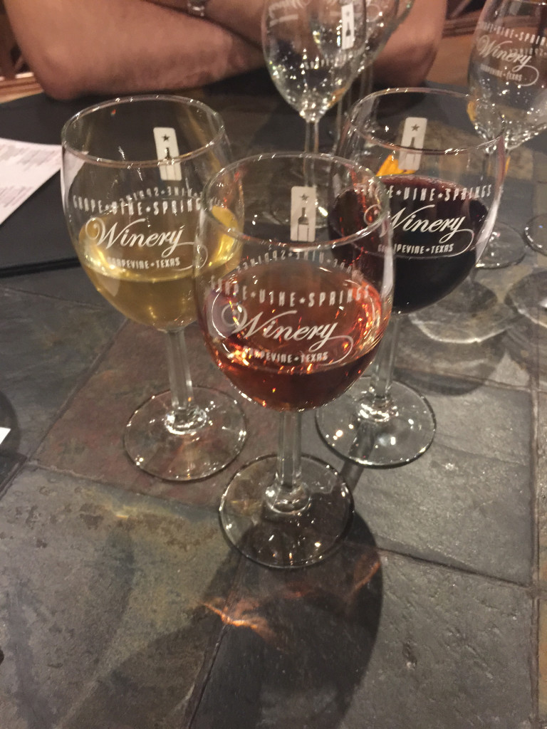 The Wandering Weekenders- Wine Tasting in Grapevine Texas