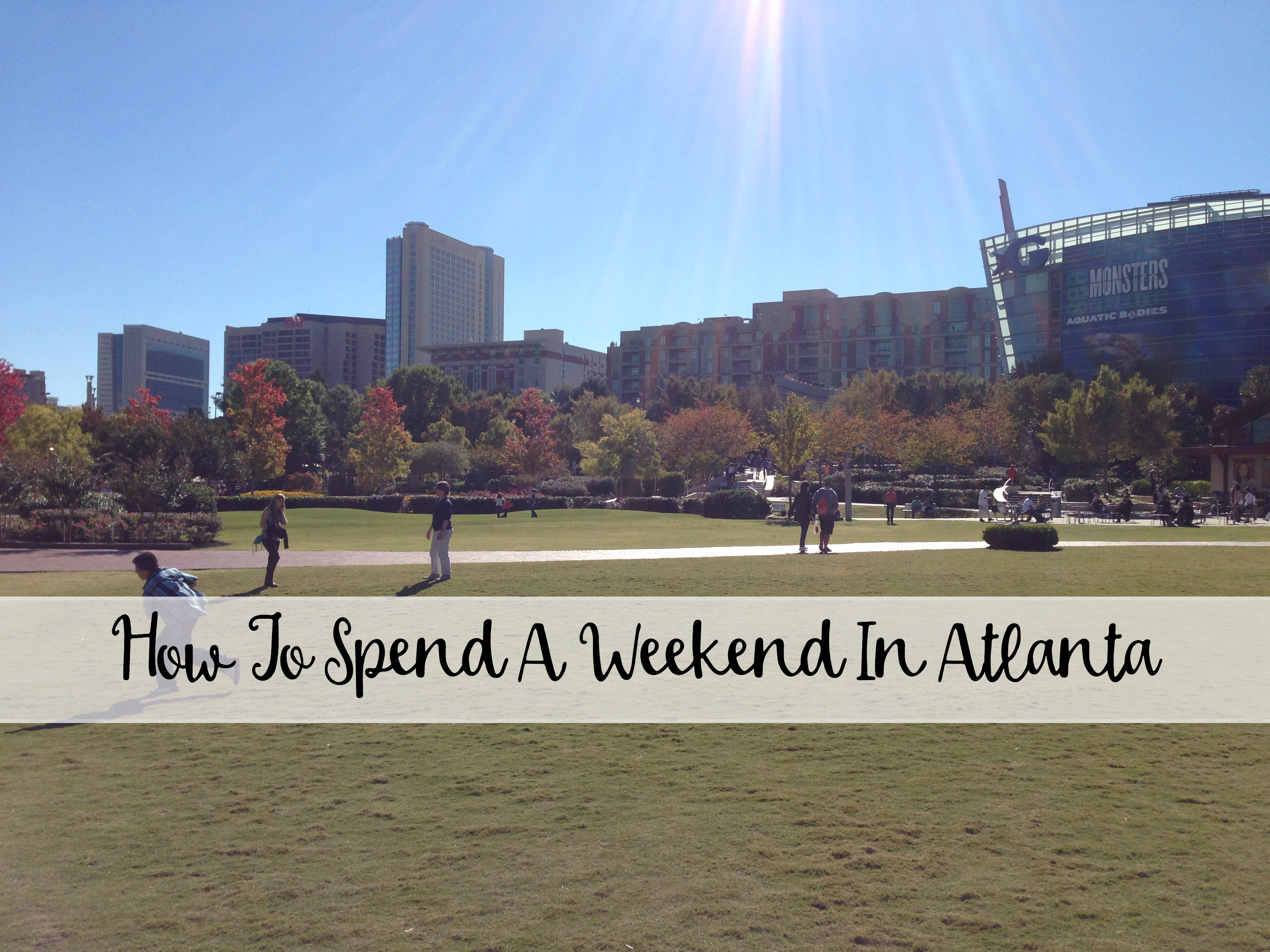 Where to spend the weekend