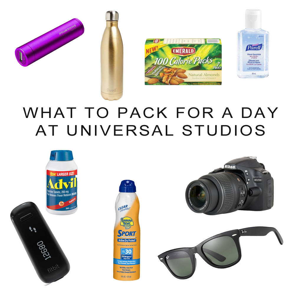 The Wandering Weekenders- What To Pack For A Day In Universal Studios