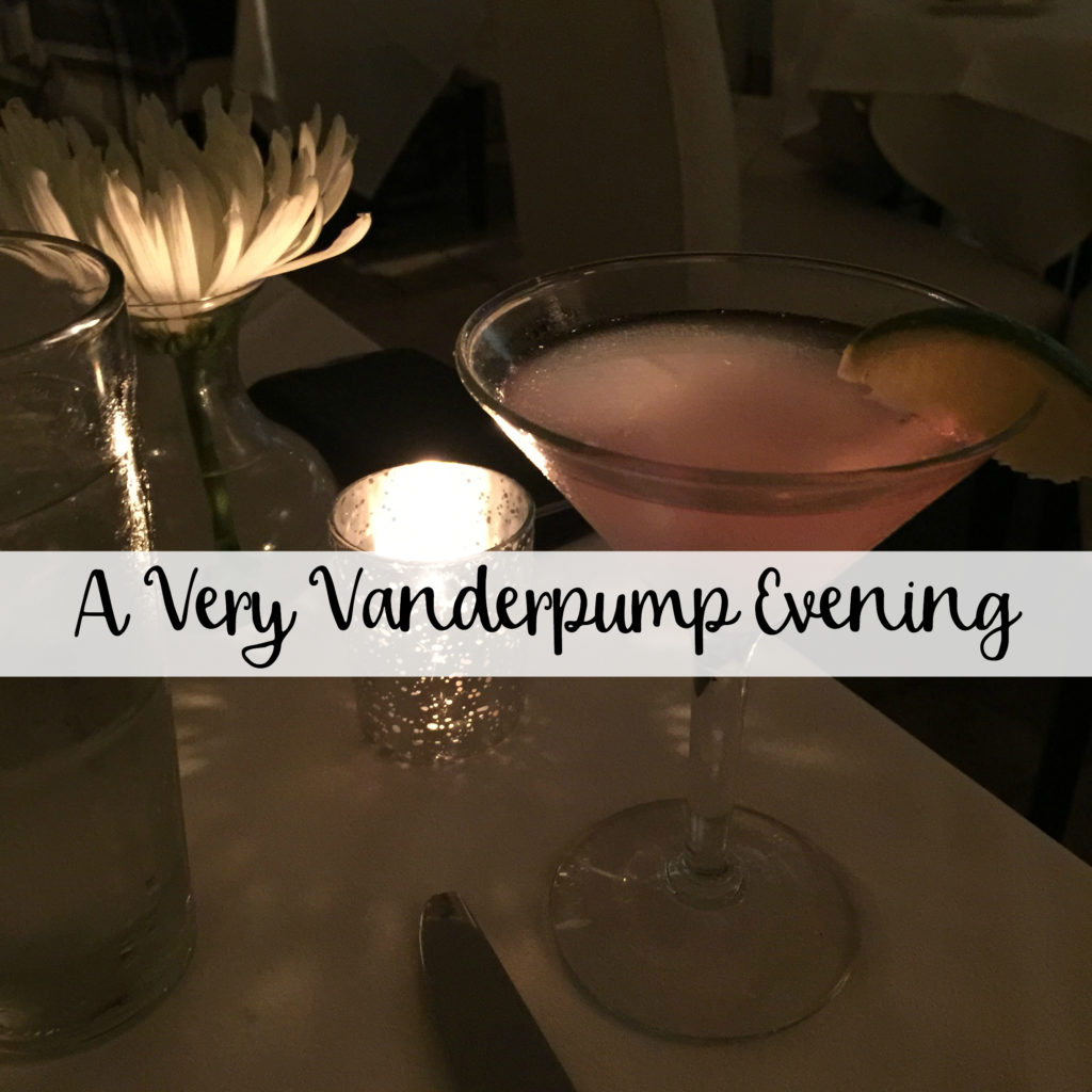 The Wandering Weekenders- A Very Vanderpump Evening