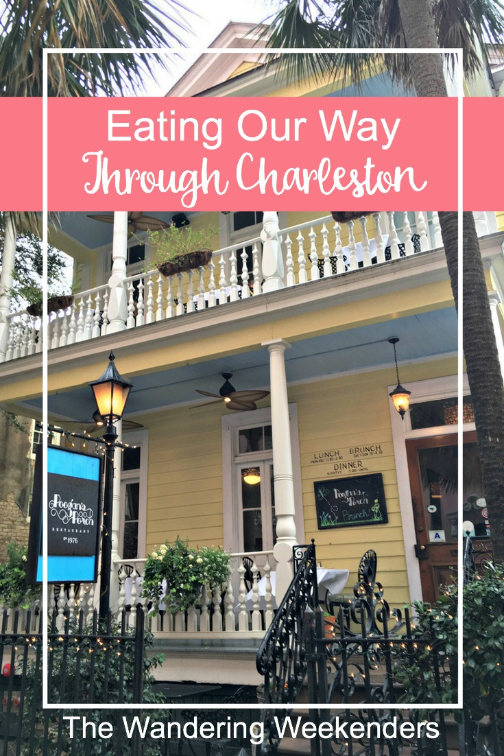 Eating in Charleston is an experience, and I've got a few restaurants you can't miss, including the famous Poogan's Porch for brunch!