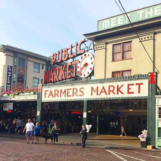 Pikes Place Market is a bustling part of the cityhellip