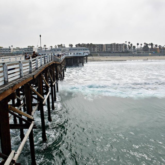 Did you know that Crystal Pier has a hotel thathellip