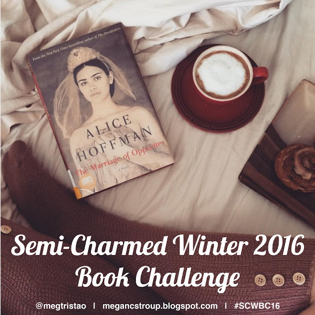 The Wandering Weekenders- My choices for the Semi-Charmed Winter 2016 Book Challenge with Megan from Semi-Charmed Kind Of Life Blog!