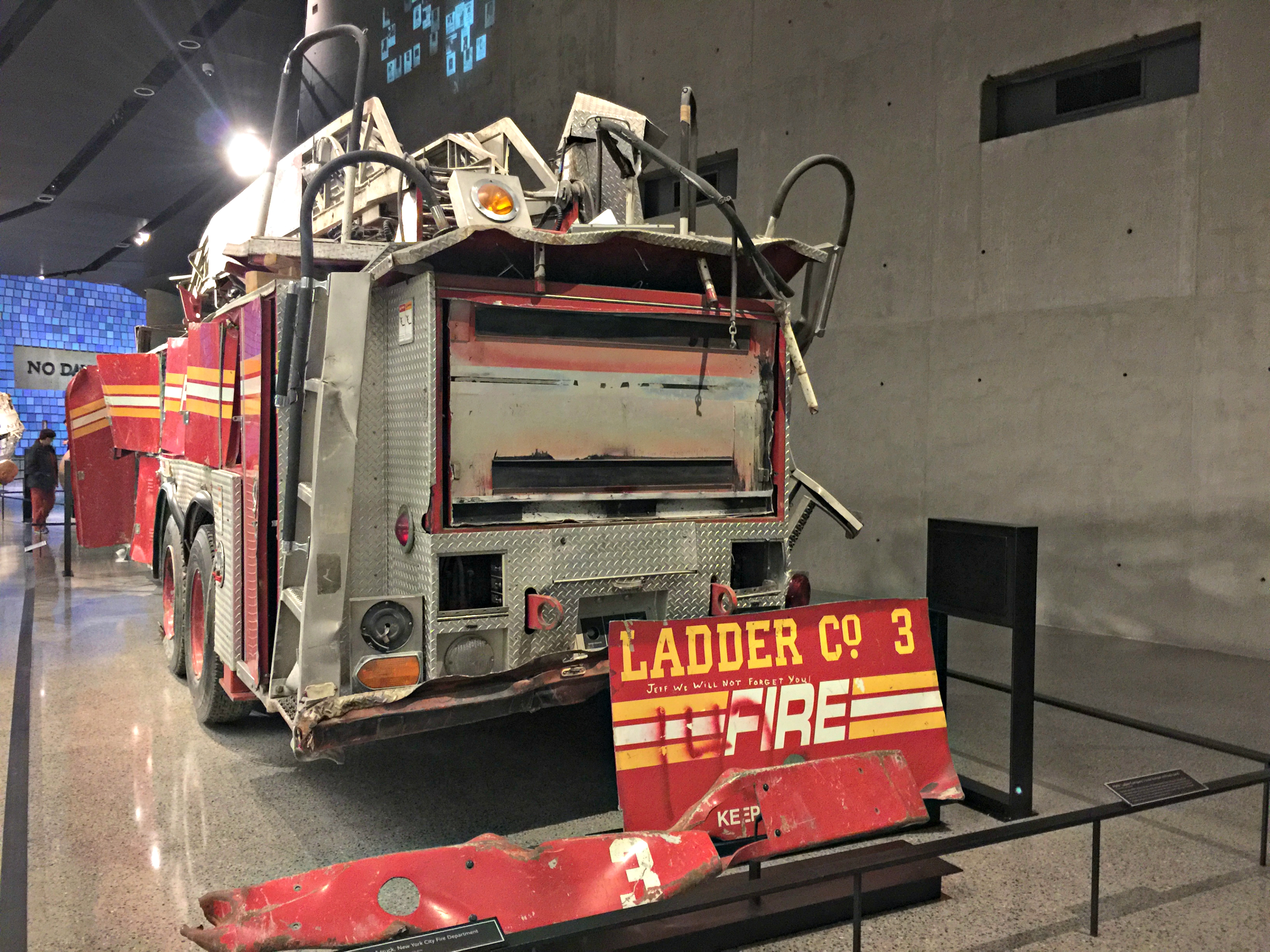 The Wandering Weekenders- We Will Never Forget- Visiting The 9/11 Museum In NYC