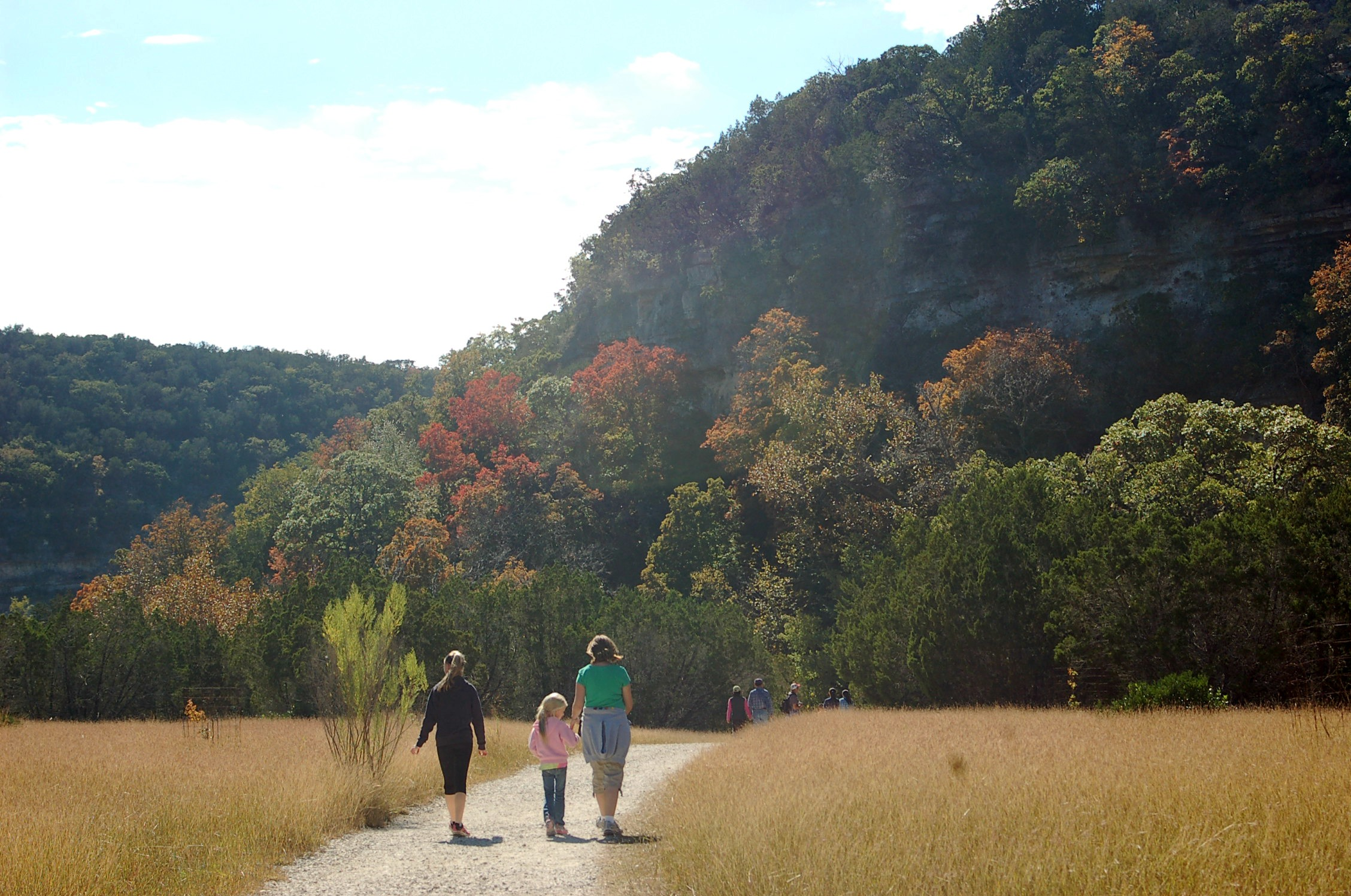 The Wandering Weekenders- Where To Find Fall In Texas- Lost Maples State Natural Area