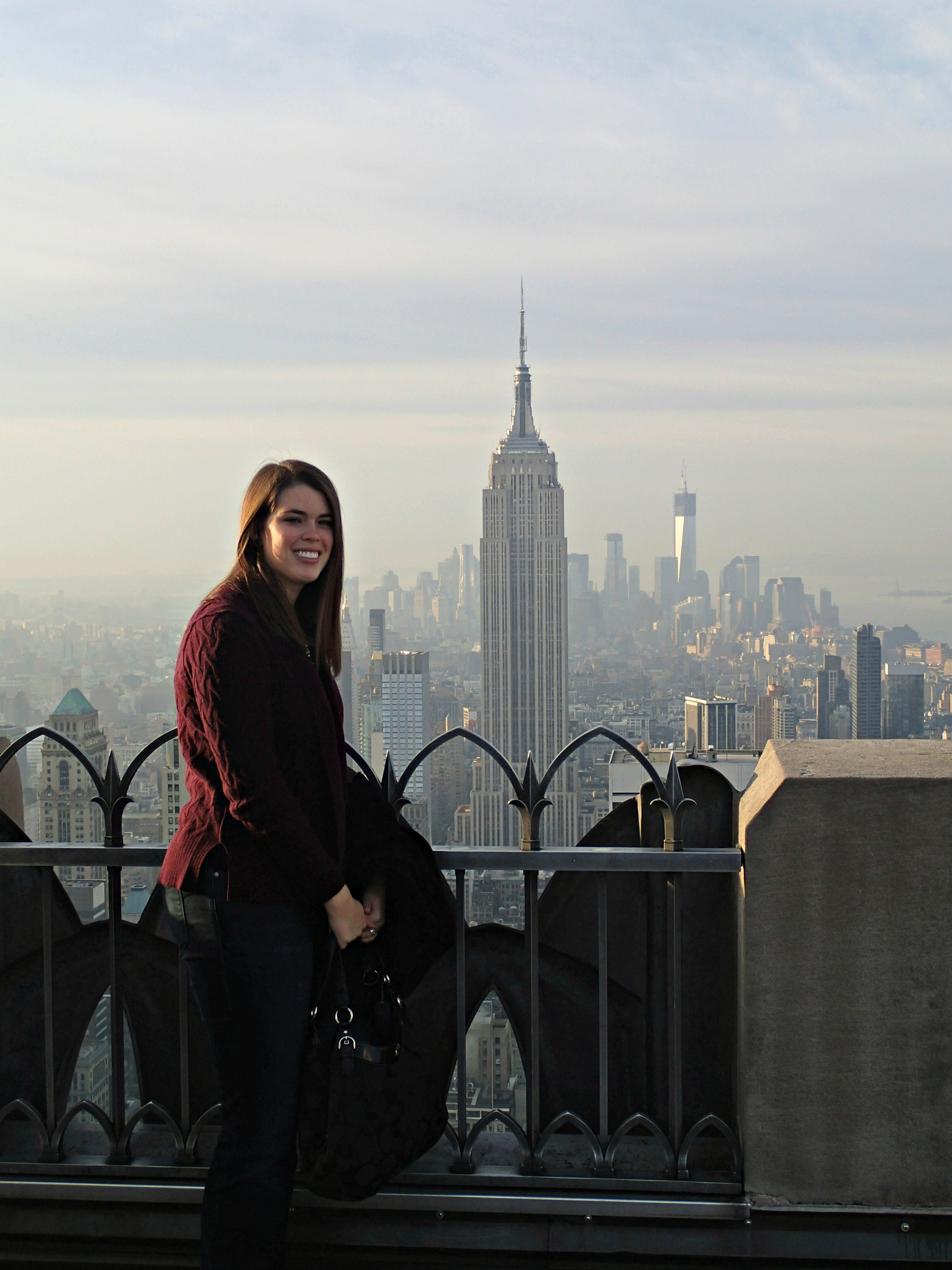 The Wandering Weekenders- The Best Views In NYC: Top Of The Rock Vs The Empire State Building