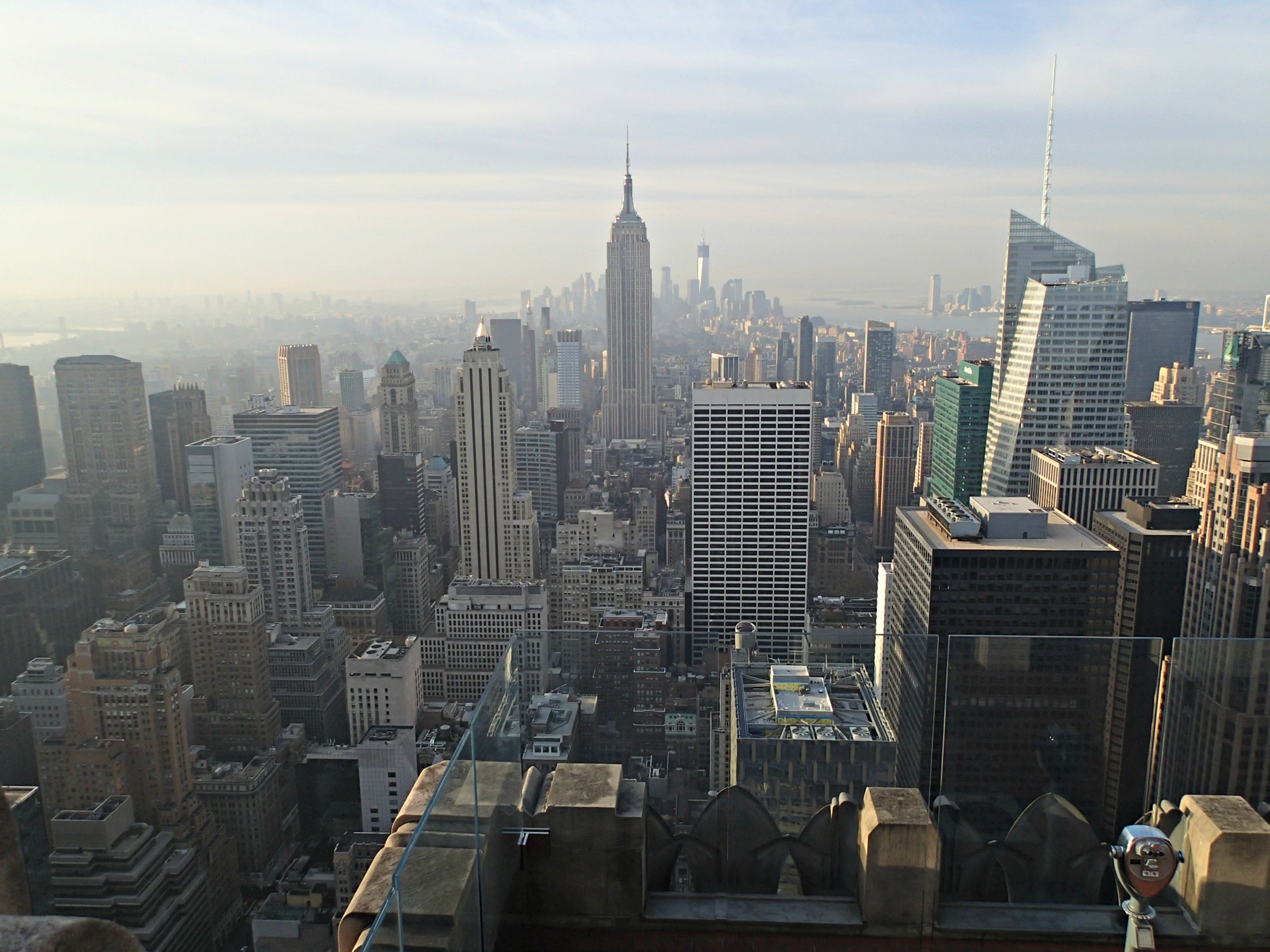 The Wandering Weekenders Best Views In Nyc Top Of Rock Vs