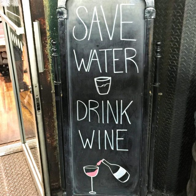 Save water drink wine sounds like the perfect motto forhellip
