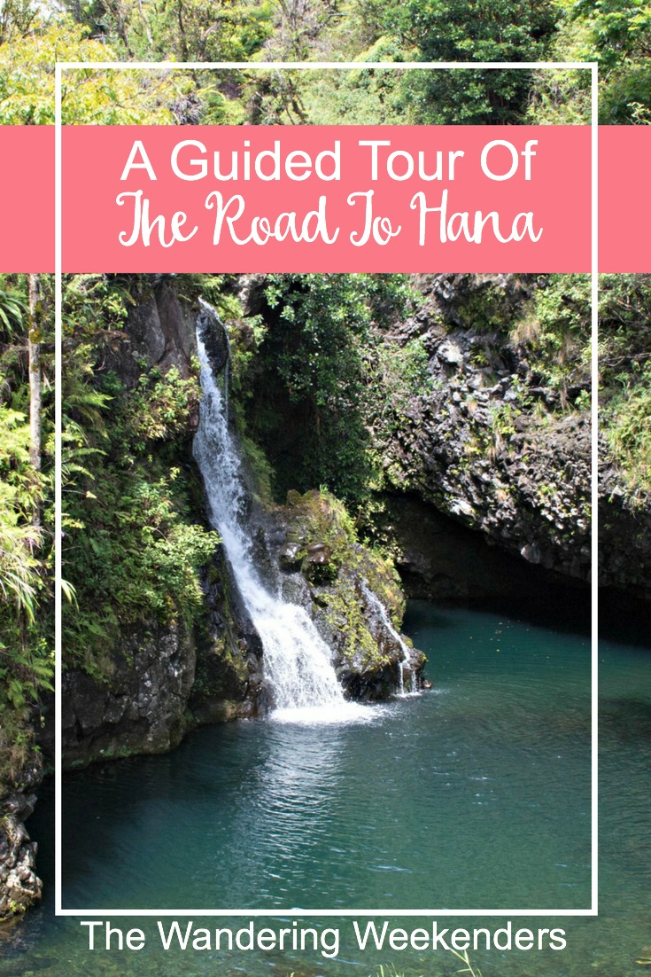 Why you should go on a guided tour of The Road To Hana in Maui, along with what you can expect to see and what you should bring with you!