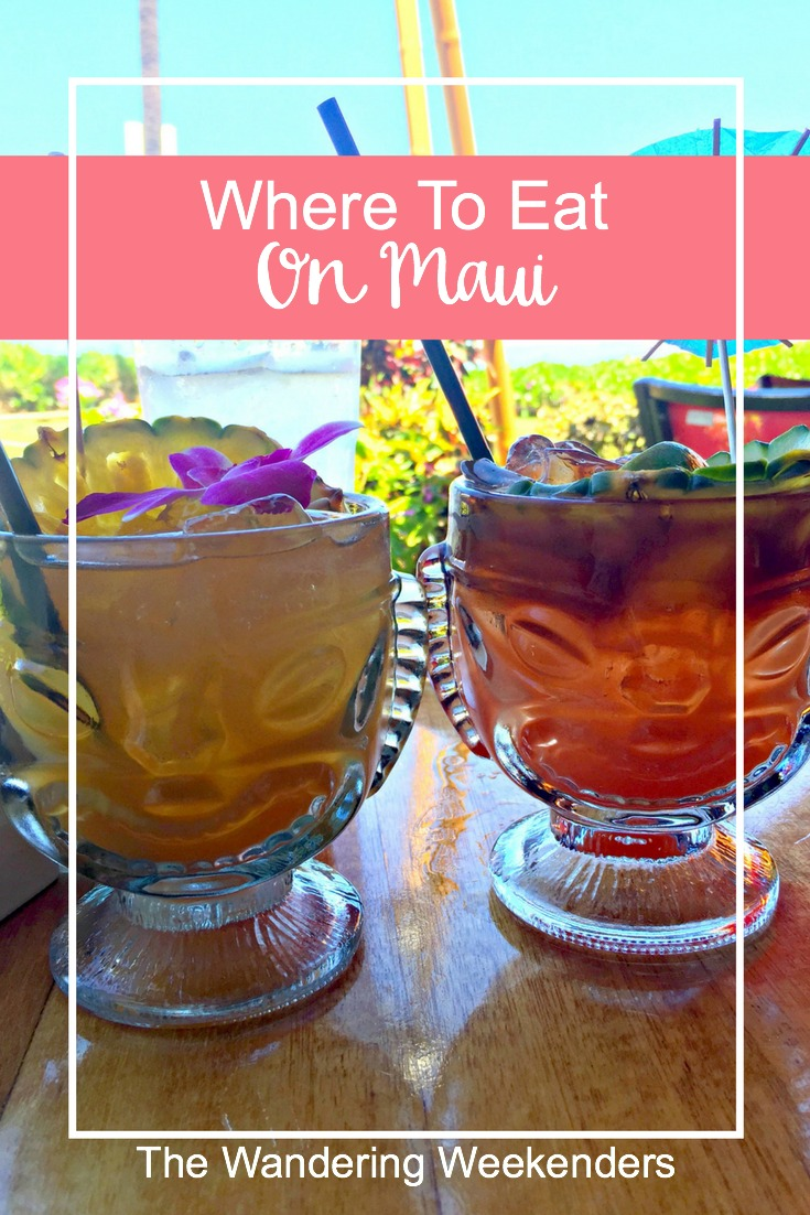 Where to eat on Maui, from casual restaurants with fish tacos to Hawaiian shaved ice to one of the best restaurants in Maui, there's something for everyone!