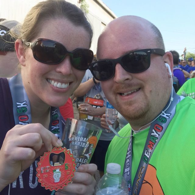 Cheers to another great Santo de Mayo 5K! It washellip