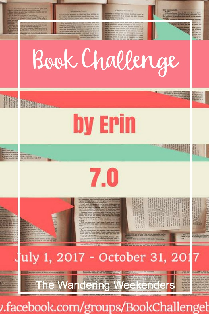 The 7th Book Challenge by Erin is starting up July 1, 2017, and I've got the rules and my picks for the categories in this post!