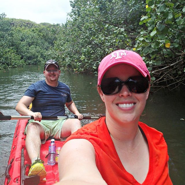 Dont let the smiles fool you kayaking in a tandemhellip