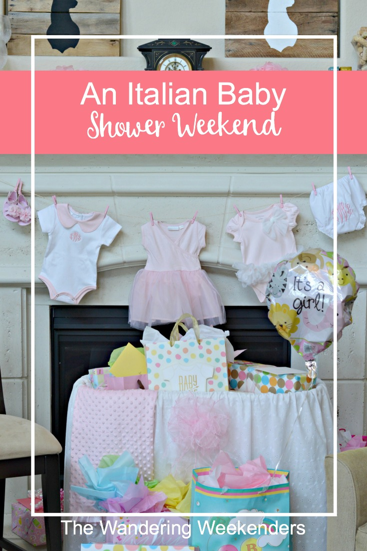 The perfect weekend celebrating a sweet momma to be and her baby girl! It was an Italian Baby Shower filled with flowers and everything Italian!
