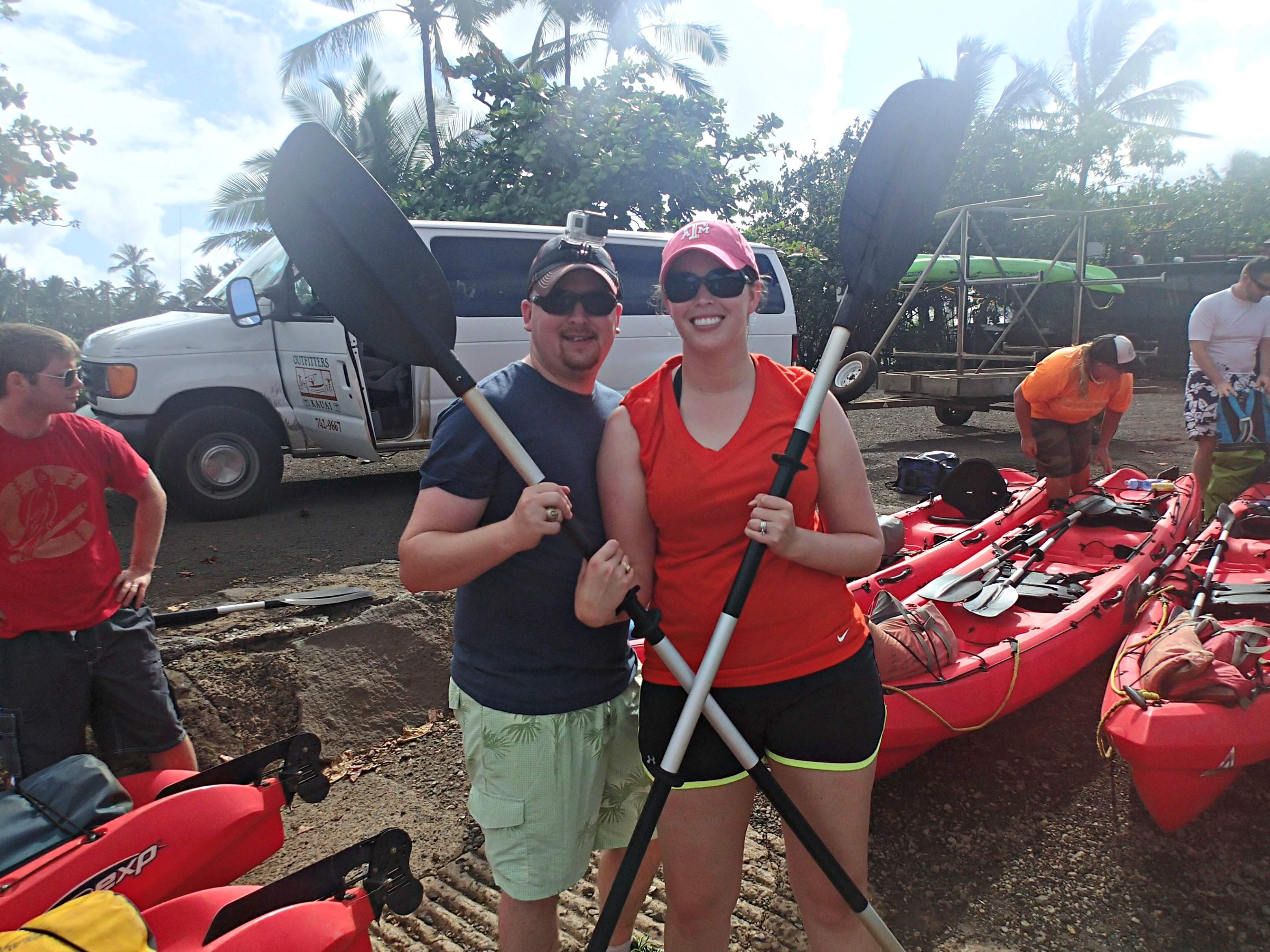 The Wandering Weekenders- Kayaking The Wailua River In Kauai