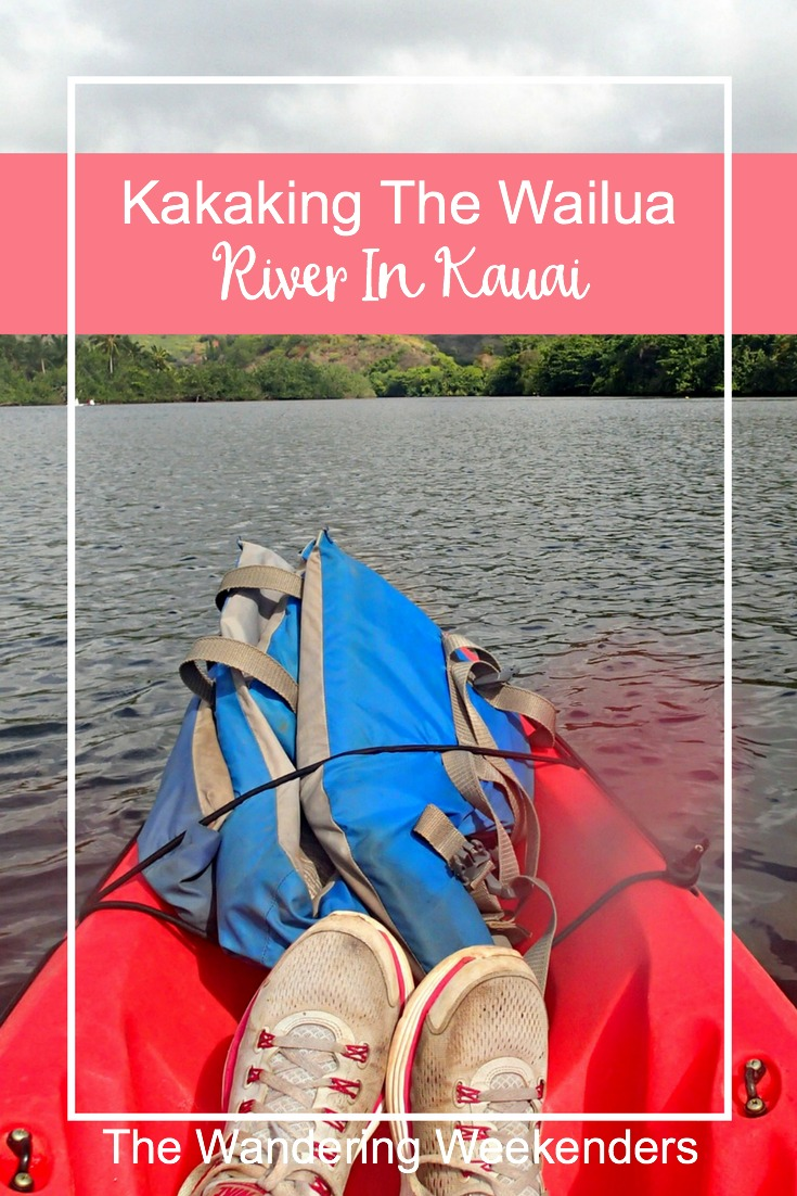 All about a crazy adventure kayaking the Wailua River in Kauai. Be prepared, those tandem kayaks are called divorce kayaks for a reason!