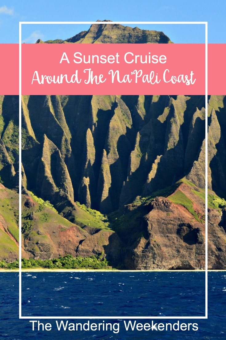 An amazing afternoon and evening in Kauai aboard a 65' Catamaran. Be sure to book with a sunset cruise around the Na'Pali Coast with Captain Andy's.