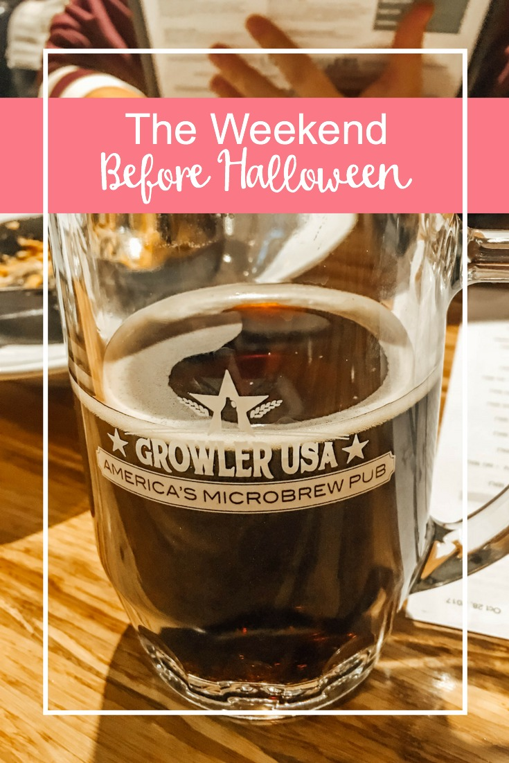 The weekend before Halloween was filled with getting things done before the babies and also relaxing and watching all the World Series games!