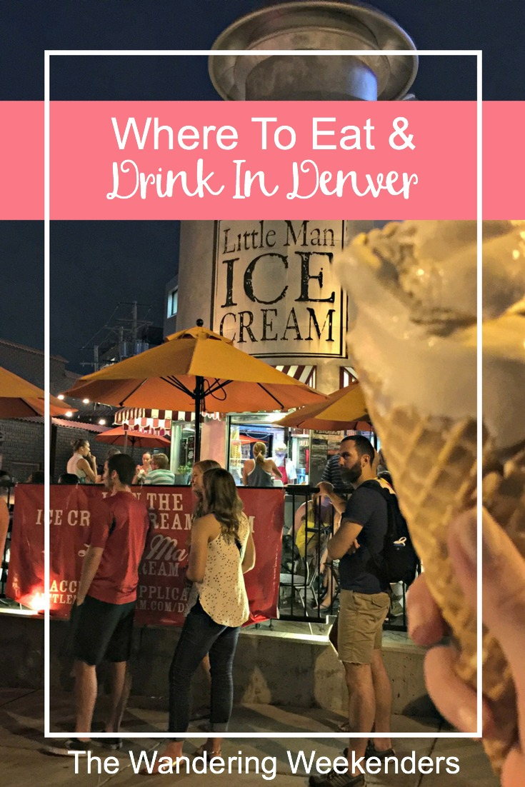 A small listing of where to eat & drink in Denver if you're there for a weekend. From brunch to a brewery to ice cream. There's a little bit of everything!