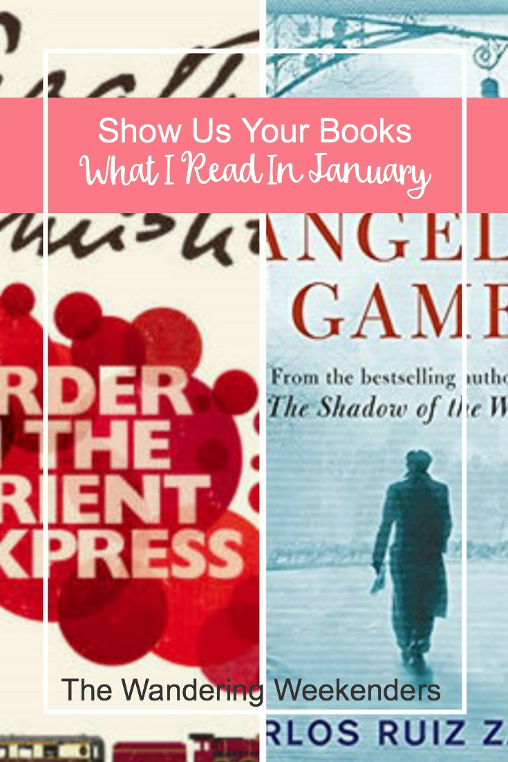 The Wandering Weekenders- Show Us Your Books What I Read In January